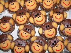 For Lan Bausano.Sock Monkey Cupcakes