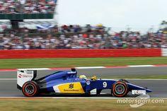 Marcus Ericsson, Sauber C34, FP3 Silverstone