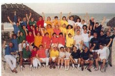 Camp Ketchum 1991 at the beach of Florida. The Camp 2013 will be in the woods of Montreal. #Ketchum90