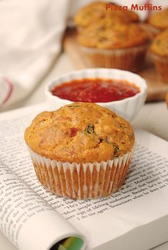 Veggie Pizza muffin