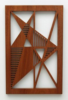 Intersecting Triangles Fretwork