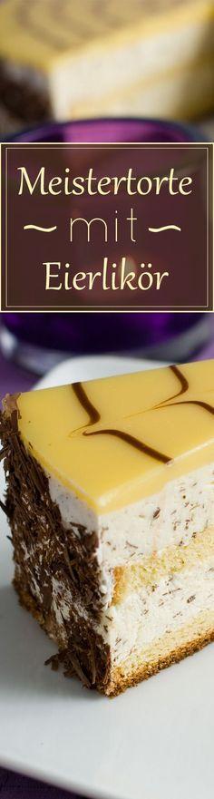 Beste Eierlikörtorte mit VERPOORTEN (Weltmeister der Konditoren Manfred Bacher) - Kuchenrezepte mit Eierlikör | Verpoorten