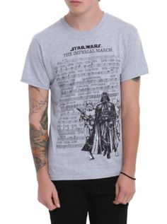 Star Wars The Imperial March T-Shirt