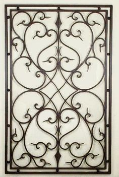 Wrought Iron Look Wall Decor Fascinating This Elegant Wall Decor Is Finished With Distressed Wood And Metal Decorating Design