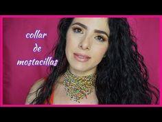 👉collar de mostacillas👈/collar de cuentas con flecos/como hacer un collar de cuentas o mostacillas - YouTube Diy Jewelry, Beaded Jewelry, Jewelry Making, Beaded Choker, Beads And Wire, Beading Tutorials, Youtube, Chokers, Crochet