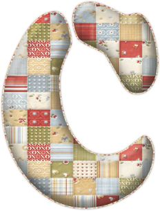 CH.B *✿* Sewing Letters, Coat Of Many Colors, Alphabet And Numbers, Christmas Stockings, Clip Art, Holiday Decor, Patches, Template, Ideas