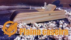 Faça você mesmo plaina de madeira  - marcenaria artesanal