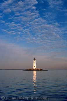 New Point Comfort #Lighthouse ~ Chesapeake Bay, #Virginia - http://dennisharper.lnf.com/