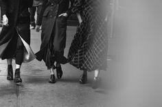 VOGUE ITALIA - WALKING WITH LINDBERGH - New York Streets, 2016 - Peter Lindbergh