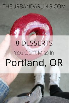 Portland is the hipster land of bridges, bikes, and the best desserts! If you are planning a trip to Portland then I have the perfect list of ice cream, Oregon Travel, Travel Usa, Travel Tips, Travel Ideas, West Coast Road Trip, Portland Oregon, Portland Bars, Visit Portland, Newport Oregon