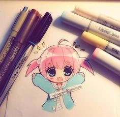 So kawaii! ~ pinterest @pinkmintkay