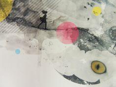 El Pintor Gris by Leandra Larrosa, via Behance