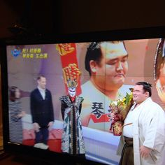 Kotoshogiku win Genie In A Bottle, Big Guys, Action, Sports, Hs Sports, Group Action, Sport