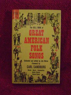 A very varied collection of folk songs organized by historical periods. Contains words, music, commentary, guitar chords and record guide.