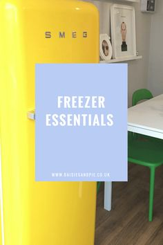 Freezer Essentials, food to keep in stock for family meals, homemaking tips