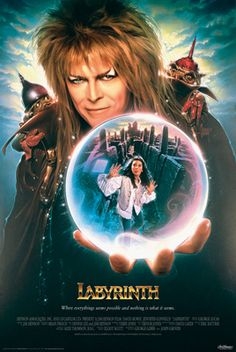 "Labyrinth (1986), David Bowie, Jennifer Connelly (""You remind me of the babe..."")"