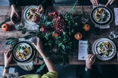 our food stories // gathering