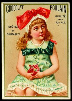 French Tradecard ~ Chocolat Poulain | Flickr - Photo Sharing!