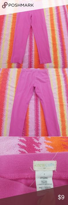 Crew cuts pink jeggings Size 7 Crew cuts pink jeggings crew cuts Bottoms Casual