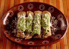 Chicken Taquitos with and Avocado Salsa - Taquitos are also known as tacos dorados and flautas.