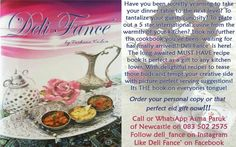 Order yours now Dinner Table, Deli, Plates, Tableware, Food, Dinning Table, Licence Plates, Dishes, Dinnerware