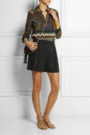 EtroPrinted silk blouse