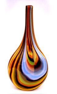 Jeffery Phelps Wine Decanter, Glass Art, Collection, Ornaments, Wine Carafe, Jar Art