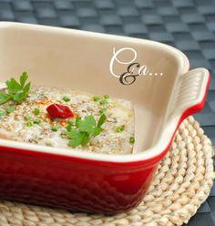 """Filetto di tonno al forno - ricetta tratta dal blog di Tiziana: """"http://www.cucinandoassaggiando.com/"""". Pirofila rettangolare in gres smaltato colore rosso @Le Creuset Italia #food #rosso #red #gres #filetto #tonno"""