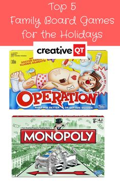 5 Family Board Games to Play During the Holidays