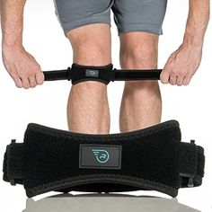 1db1e35e40 Patella Straps Knee Brace Support for Arthritis, ACL, Running, Basketball,  Meniscus