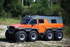 AVTOROS SHAMAN 8×8 ALL-TERRAIN VEHICLE, russian super truck beats each hummer a 1000 times!