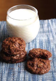 Ghirardelli Double Chocolate Cookies are the real deal! {Brittany's Pantry}
