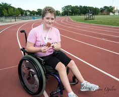 Abbey Leblanc, 15, has a new outlook on life after discovering wheelchair sports and earning a bronze medal at the Ontario high school track and field championships. Glenn Ogilvie