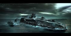 The coolest thing about Battleship? The sleek look of its alien spaceships and war machines. Tasked with creating a whole new alien race from scratch, designers who'd worked on Star Trek and The Matrix created some downright beautiful killer starships.