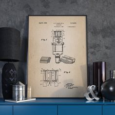 Ribbon Microphone Patent Microphone Poster Microphone by dalumna