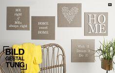 Keilrahmen gestalten - DIY Trends entdecken mit idee.