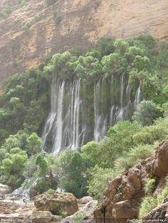 لرستان - آبشار شوی  Lorestan - Shooy Waterfall  IRAN