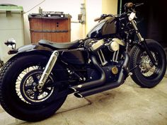 I like the old school shock covers Vance and Hines short shot exhaust small Air intake