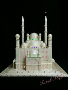 Mohammed Ali Mosque made by my hands from A to Z  ...  matchsticks