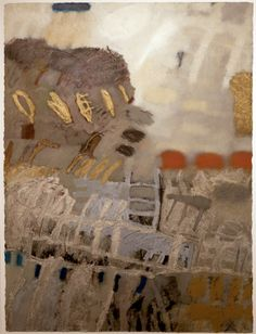 Clyde Fowler  Choreograph 8  mixed media, oil & diamond dust on paper