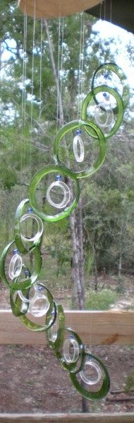 RECYCLING WINE bottles into functional and by Liftingupspirits, $30.00
