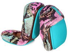 Electric Snake | #tieks ballet flat