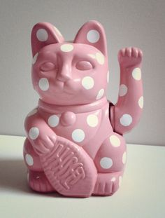 Lucky Pop Cat Figurine