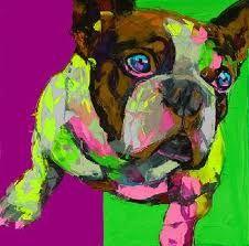 Pop art Happy Dog on canvas modern abstract oil painting handmade oil painting Animal Pop Art Home Decor Living Room Modern Canvas Art, Contemporary Wall Art, Dog Pop Art, Dog Art, Hand Painted Canvas, Canvas Wall Art, Animal Paintings, Oil Paintings, Oil Painting Abstract
