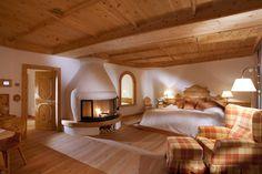 Luxury hotel suite at Bio-Hotel Stanglwirt in Tirol Austria