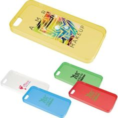Help your clients protect their smartphones while promoting your business with this Smartphone Gel Case. This translucent protective case fits the iPhone 5.  This is the perfect promotional item for technology conventions, cell phone stores and seminars and conferences geared toward media. Please note media device is not included with cover. Customize this item for your next special event that is sure to impress your valued clients.