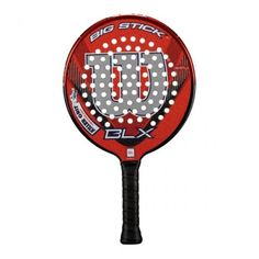 Wilson '13 Big Stick BLX Platform Tennis Paddle by Wilson. $169.00. The Wilson Big Stick BLX Platform Paddle is constructed with Basalt fibers for increased feel and features Sharp Hole and Killer Grit technologies for increased bite on the ball. This paddle also features a built-in bottle opener in the handle. Please drink responsibly. Weight: 385g. Density: Medium. Grip: 4.25.