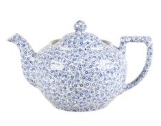 Teapot (large)  Blue Felicity...Burleigh          Burleigh Shop > Blue Felicity