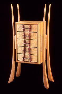 Dancer David Charles knipfer I am amazed Woodworking Box, Woodworking Furniture, Handmade Furniture, Fine Furniture, Unique Furniture, Furniture Projects, Wood Furniture, Woodworking Techniques, Woodworking Inspiration