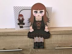 Excited to share this item from my #etsy shop: Goth girl design 2 card, Gothic, red and black, birthday card, happy birthday, 3d on the shelf card and envelope Purchase Card, Birthday Cards, Happy Birthday, Handmade Envelopes, Goth Girls, All Design, New Baby Products, Gothic, Shelf